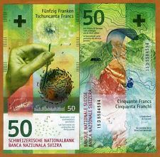Switzerland 50 Franc part of our list of top 10 beautiful banknotes