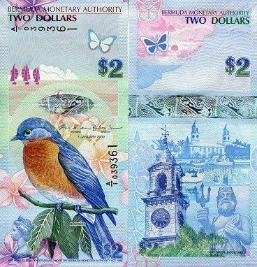 Bermuda's $2 Bill is 3rd on the list of most beautiful banknotes