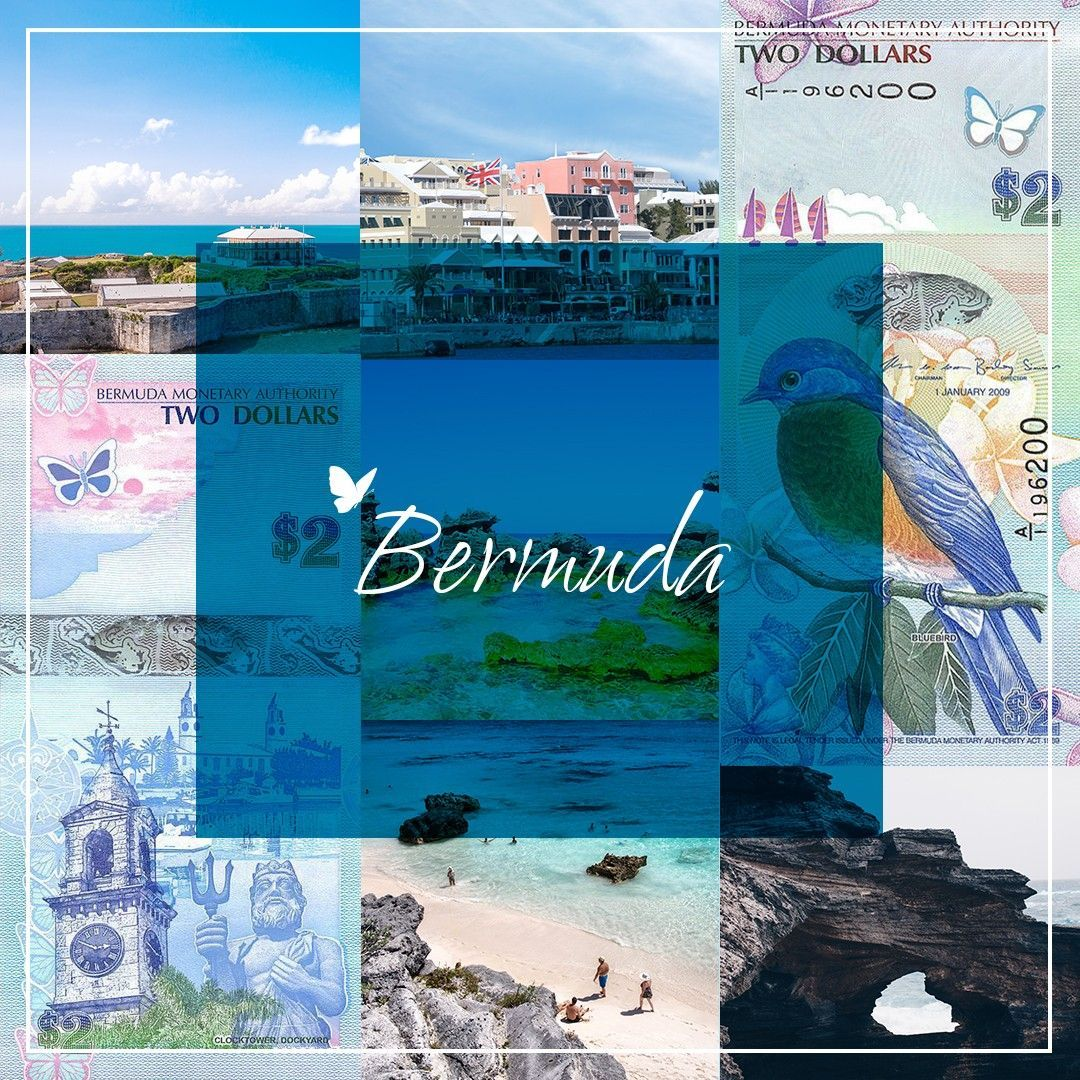 Bermuda $2 Dollar Banknote on Instagram