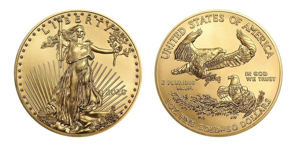 Authentic gold bullion. Buy from reputable dealers to avoid gold scams
