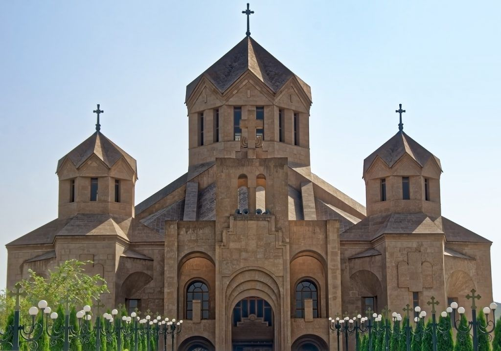 Saint Gregory The Illuminator Cathedral in Yerevan - Part of Armenia History & Culture