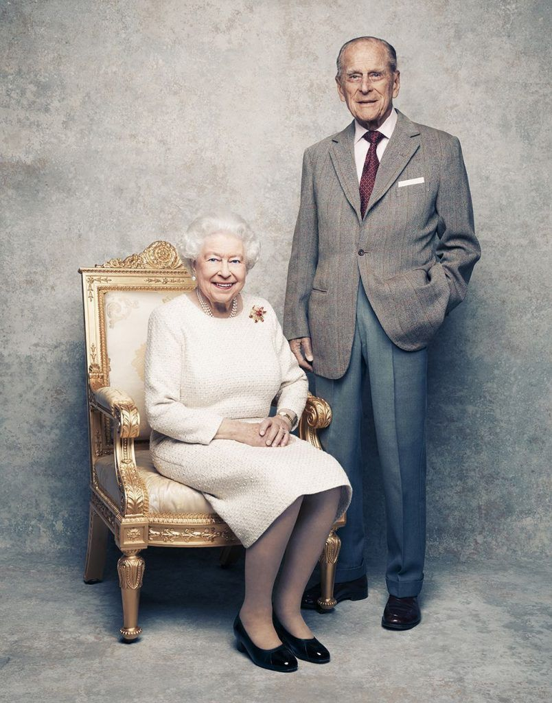 Queen Elizabeth II & Prince Philip | Both are featured on various banknotes |