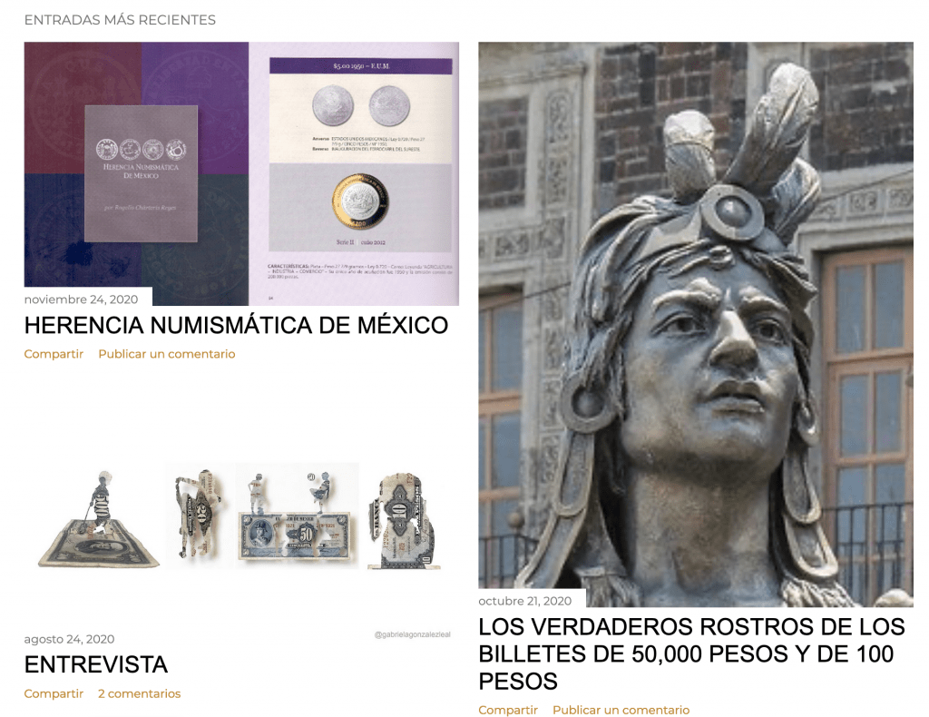 Mexican Currency & Other Artifacts