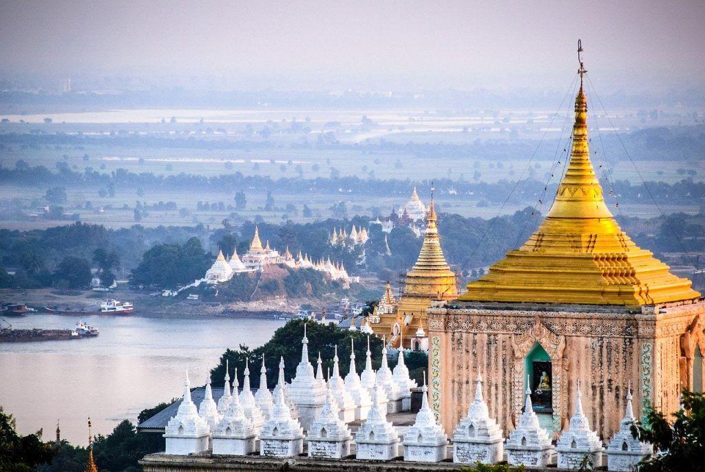 Burma - View of Mandalay
