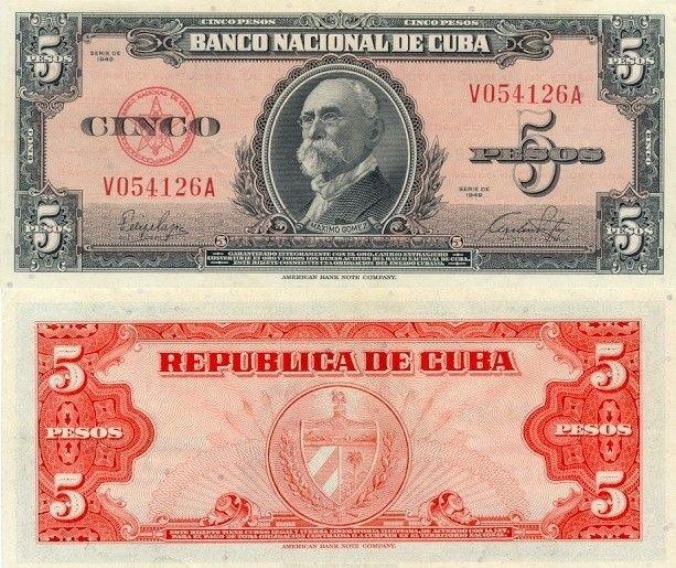 Cuba 5 Pesos | 1949 | P-78a |