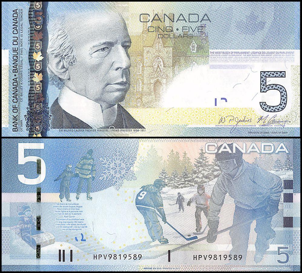 Canada 5 Dollars
