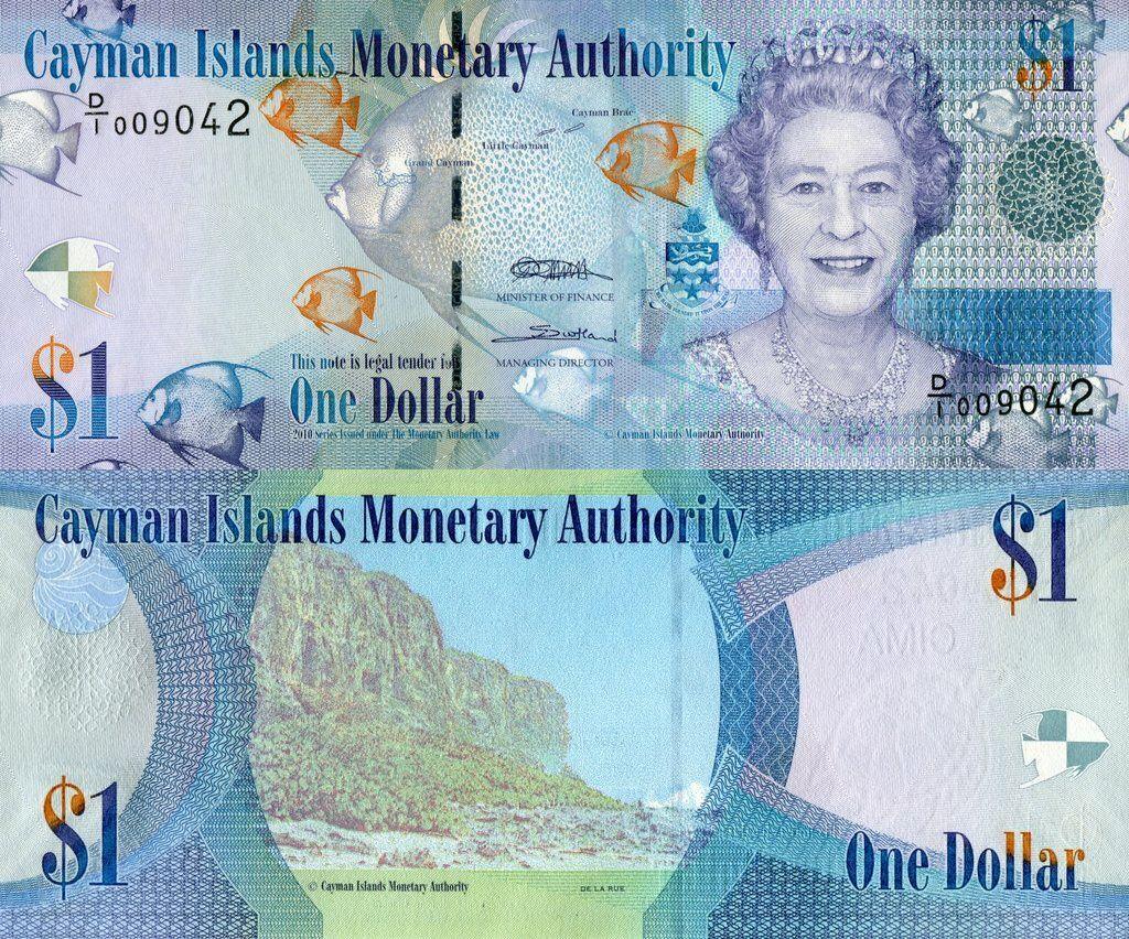 Cayman Islands 1 Dollar | 2010 | P-38a |