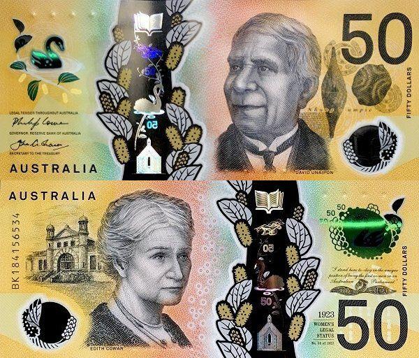 Australia 50 Dollars   2018   P-64a  
