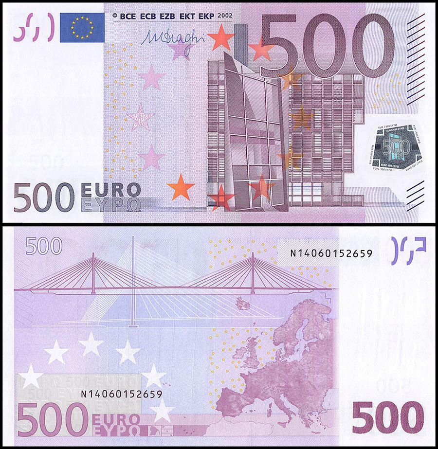 EUROPEAN UNION | Austria 500 Euro | 2002 | P-19A |