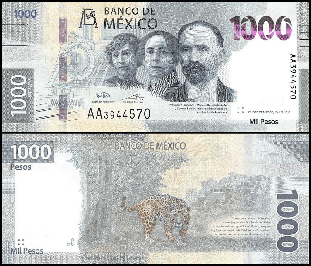 Mexico 1,000 Pesos | 2020 |