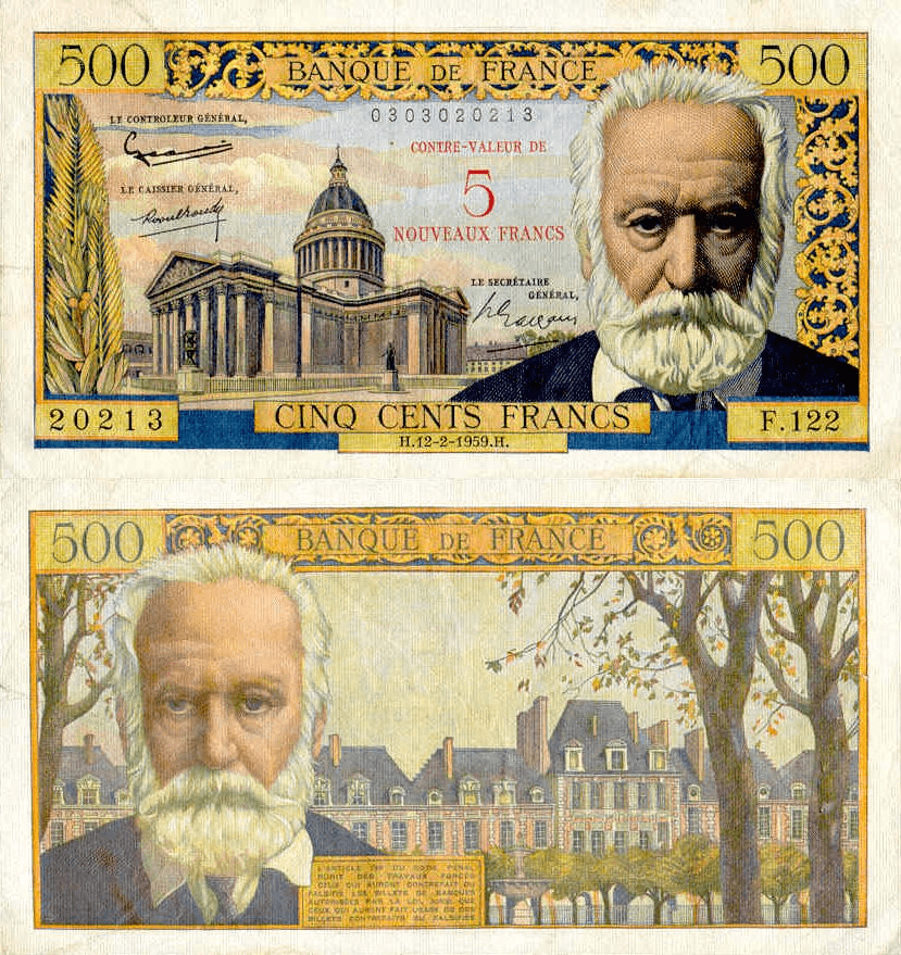 France 5 Nouveaux Francs | 1959 | P-137b |