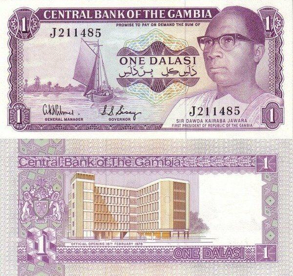 Gambia 1 Dalasi | 1978 | P-8a |