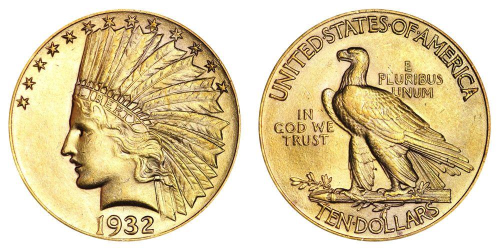 USA $10 Golden Eagle Coin | 1932 |