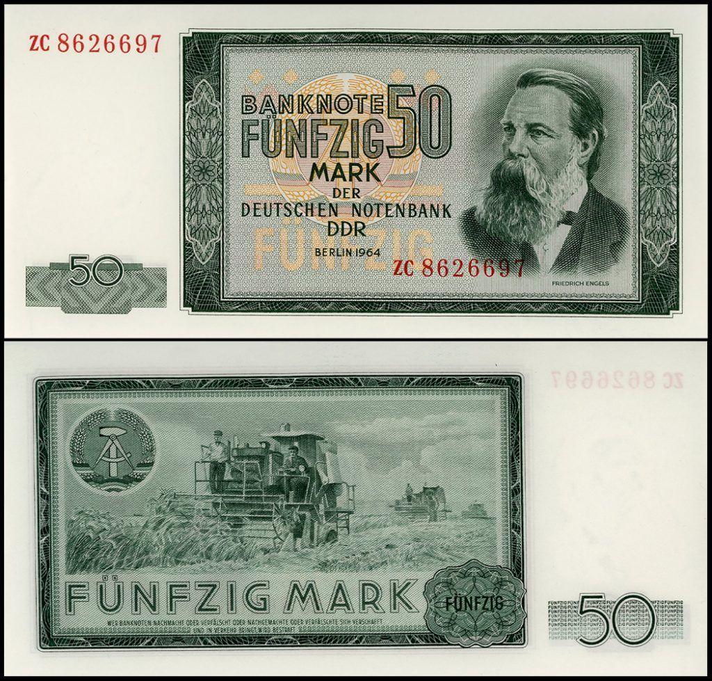 East Germany - Berlin 50 Mark (Ostmark) | Replacement Banknote |