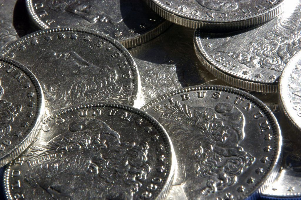 Morgan Dollars from similar era