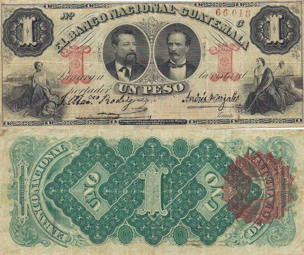 The quetzal replaced the peso