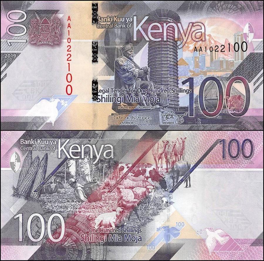 Kenya 100 Shillings | 2019 | P-53a |