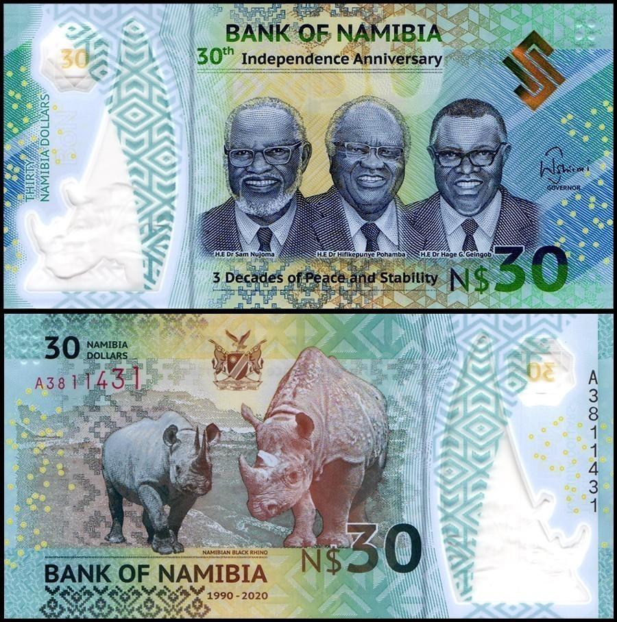 Namibia 30 Namibia Dollars, 2020