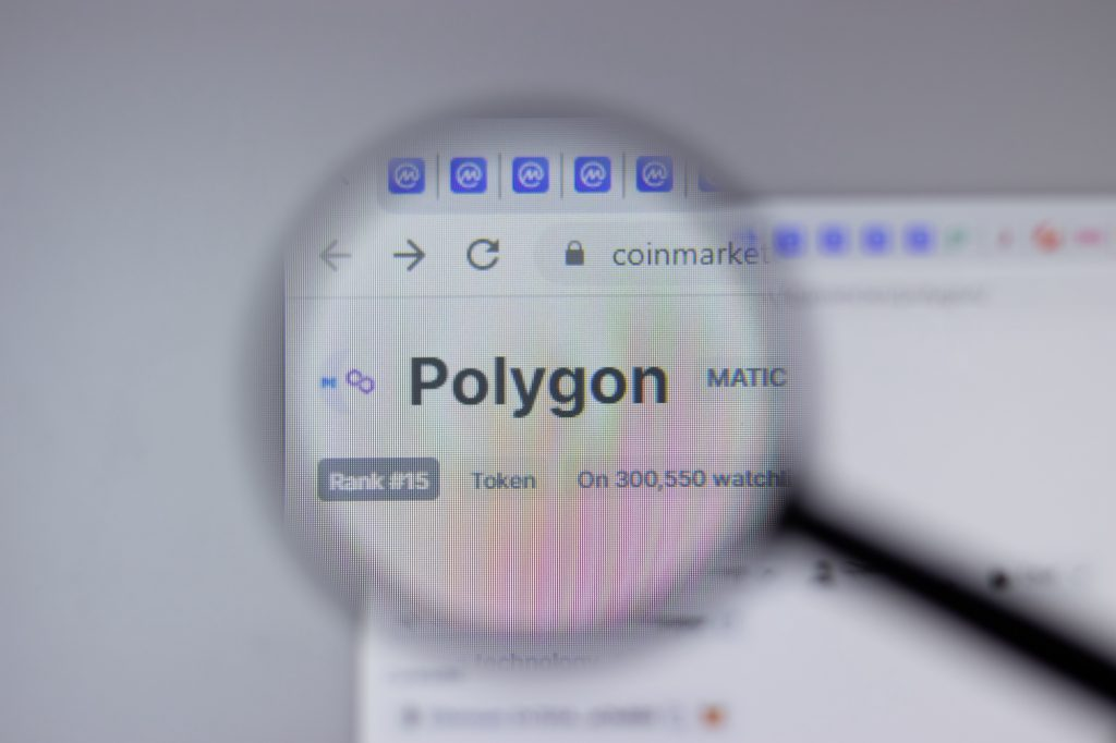 Polygon Matic On Search Page