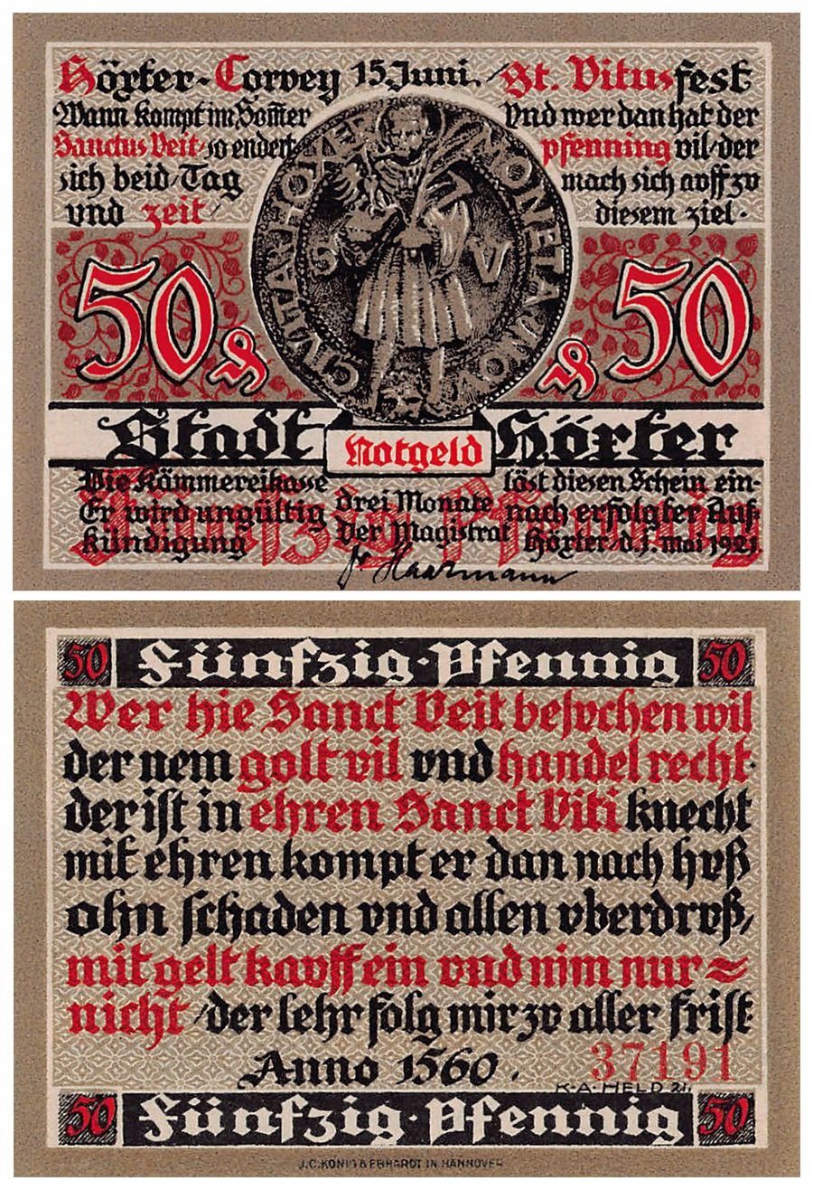 stöckheim Complete Set Flour 1272.1 50 Pfennig 1 Mark Lindman 1241a
