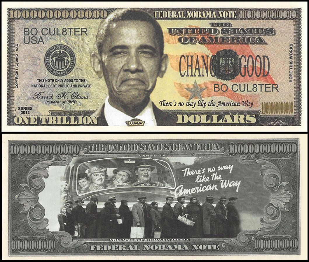 Set of 50 Barack Obama 2008 Commemorative Dollar Bill