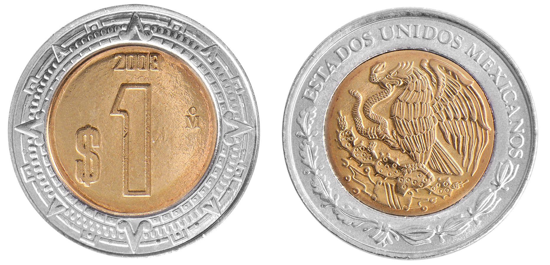 20 peso coin mexico