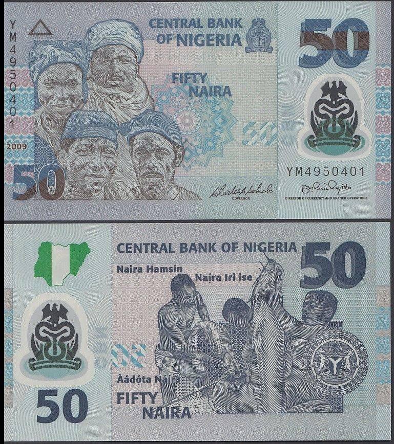 Nigeria 50 Naira 2009 P 35d Unc
