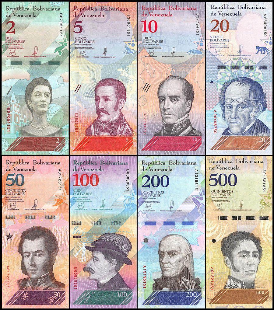 VENEZUELA 100 BOLIVARES 2018 P NEW BUNDLE 10 PCS UNC condition