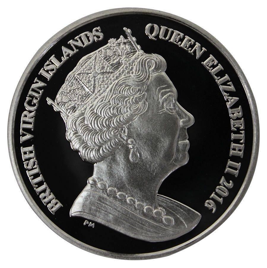 British Virgin Islands  Dollar Gold Coin