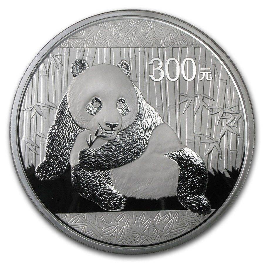 China 300 Yuan 1 Kilo Kg Silver Proof Coin 2015 Mint