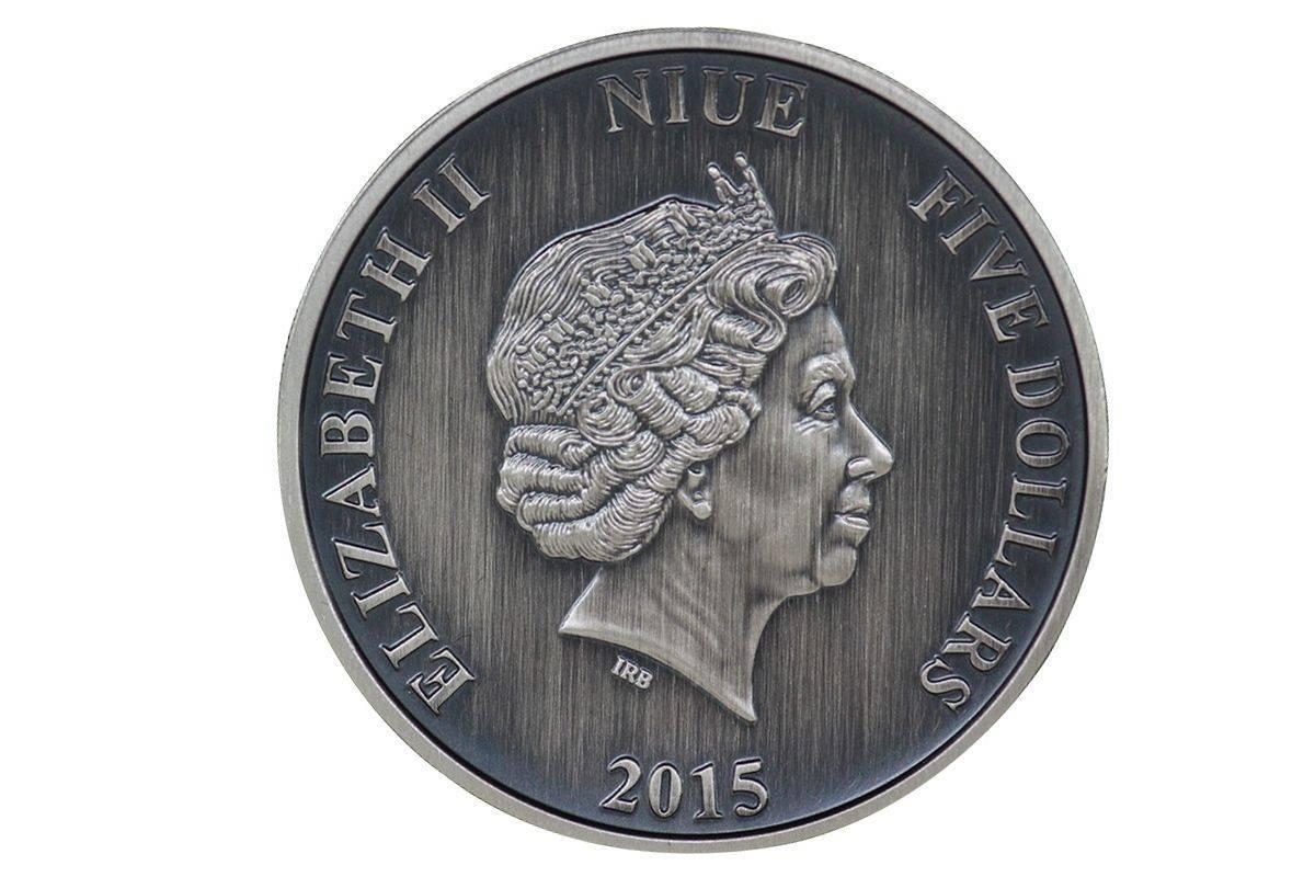Niue Marco Polo 5 2 Oz Silver Coin 2015 Journeys Of
