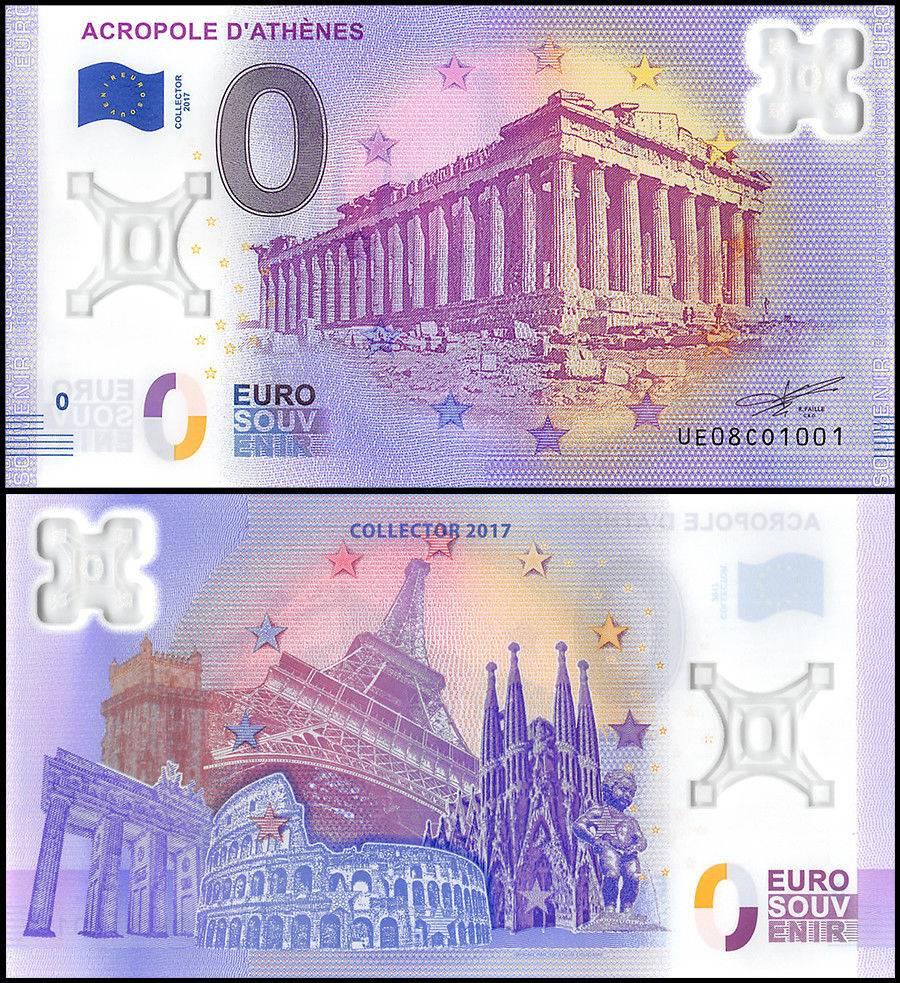 Zero  0  Euro 15 Pcs Full Set  2017  Unc Polymer Banknote W   Matching Serial Set