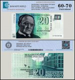Finland 20 Markkaa Banknote, 1993, P-123, UNC, TAP 60 - 70 Authenticated