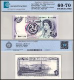 Isle of Man 1 Pound Banknote, 1983, P-40b, UNC, TAP 60-70 Authenticated