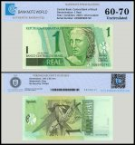 Brazil 1 Real Banknote, 2003, P-251a, UNC, TAP Authenticated