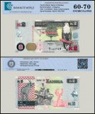 Zambia 2 Kwacha Banknote, 2012, P-49a, UNC, TAP 60 - 70 Authenticated