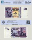 Swaziland 20 Emalangeni Banknote, 2010, P-37a, UNC, TAP 60 - 70 Authenticated