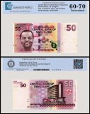 Swaziland 50 Lilangeni Banknote, 2010, P-38, UNC, TAP 60 - 70 Authenticated