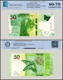 Hong Kong 50 Dollars Banknote, 2018, P-NEW, UNC, TAP 60 - 70 Authenticated