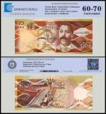 Barbados 10 Dollars Banknote, 2013, P-75, UNC, TAP Authenticated