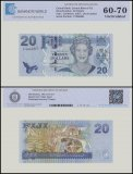 Fiji 20 Dollars Banknote, 2007, P-112a, UNC, TAP 60 - 70 Authenticated