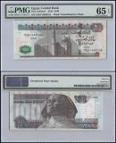 Egypt 100 Pounds, 2015, P-74, PMG 65