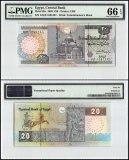 Egypt 20 Pounds, 2003, P-65c, PMG 66