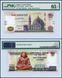 Egypt 200 Pounds, 2013-15, P-NEW, PMG 65