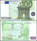 European Union - Germany 100 Euro Banknote, 2002, P-18x, Prefix X, UNC