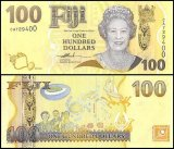 Fiji 100 Dollars Banknote, 2007, P-114a, UNC