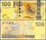 Fiji 100 Dollars Banknote, 2013, P-119a, UNC