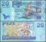 Fiji 20 Dollars Banknote, 2012, P-117a, UNC