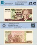 Turkey 100,000 Lira Banknote, 1997, P-206a, Prefix-G, UNC, TAP 60 - 70 Authenticated