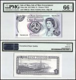 Isle of Man 1 Pound, 1983, P-40b, PMG 66